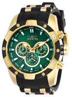 Invicta Men's 25837 Speedway Quartz Chronograph Green Dial Watch