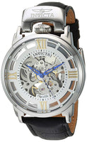 Invicta Men's 22613 Objet D Art Automatic 3 Hand Silver Dial Watch