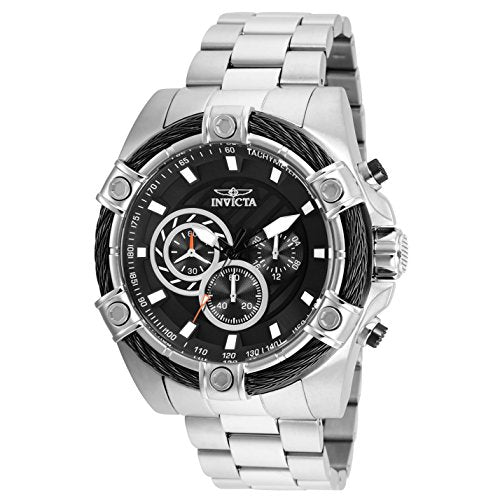 Invicta Men's 25512 Bolt Quartz Chronograph Black Dial Watch