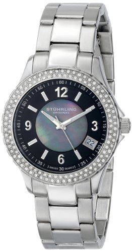 Stuhrling Original 887 02 Women's Vogue Iris Analog Display Swiss Quartz Watch