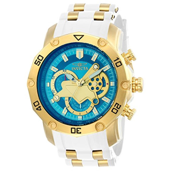 Invicta Men's 23423 Pro Diver Quartz Multifunction Blue Dial Watch