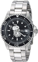 Invicta Men's 24782 Character  Automatic 3 Hand Black Dial Watch