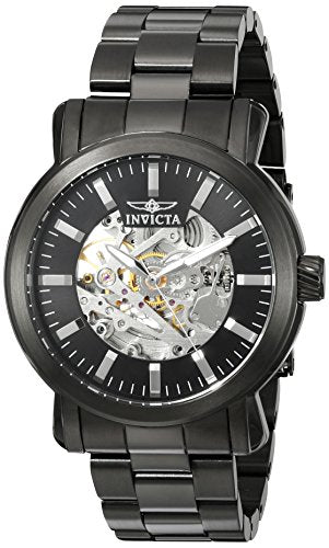 Invicta Men's 22576 Vintage Automatic 3 Hand Black Dial Watch
