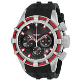 Invicta Men's 22151 Bolt Quartz Chronograph Black Red Dial Watch
