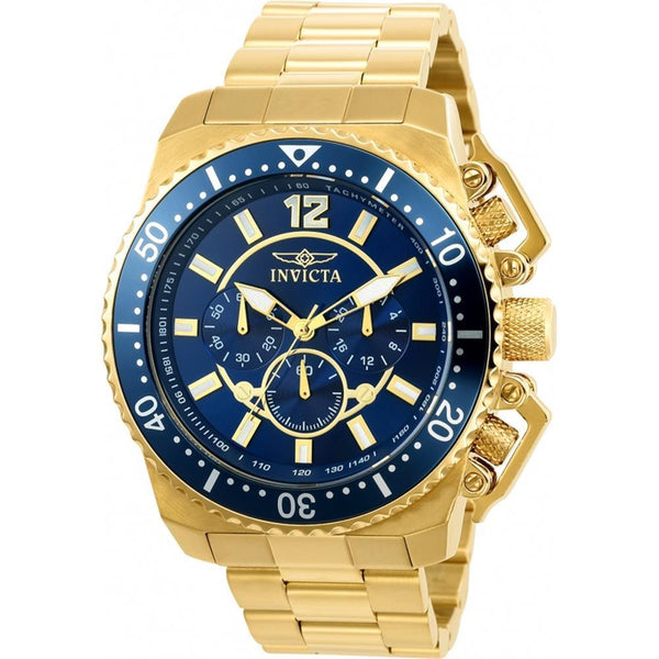 Invicta Men's 21954 Pro Diver Quartz Multifunction Blue Dial Watch