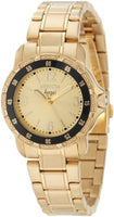 Invicta Women's 0550 Angel Quartz 3 Hand Champagne Dial Watch