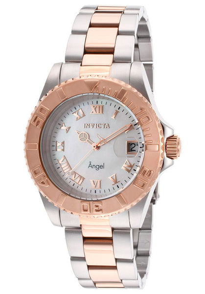 Invicta Women's 14367 Angel Analog Display Swiss Quartz Two Tone Watch