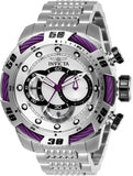 Invicta Men's 27060 Speedway Quartz Chronograph Silver Dial Watch