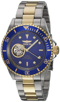 Invicta Women's Pro Diver Gold-Tone Automatic Black Dial Analog Watch 21719