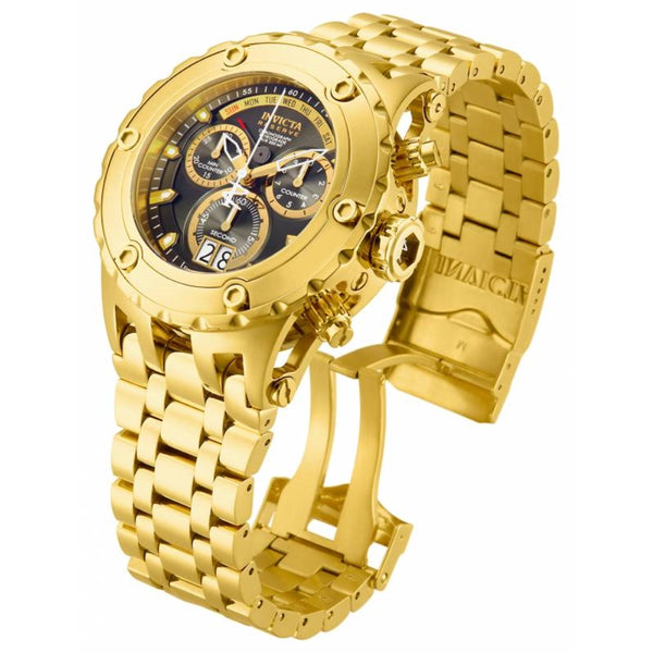 Invicta Men's 14470 Subaqua Quartz Chronograph Gunmetal Dial Watch