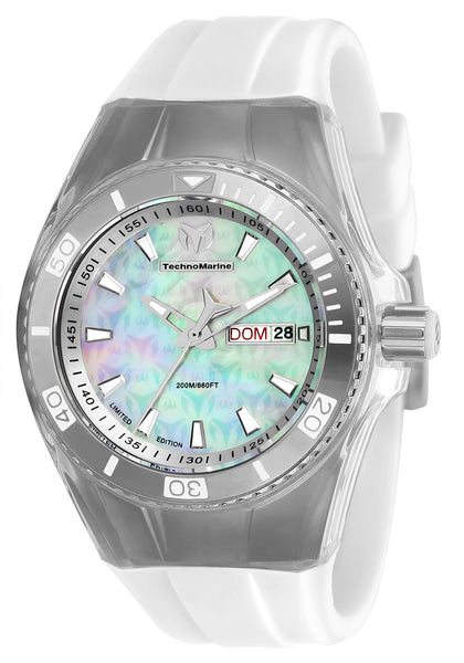 TechnoMarine Women's TM-115322 Cruise Monogram Quartz 3 Hand White Dial Watch