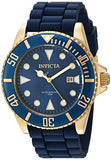 Invicta Men's 90304 Pro Diver Quartz 3 Hand Blue Dial Watch