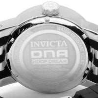 Invicta 10437 Womens DNA Recycled Art Quartz SS Case Silicone Strap Watch