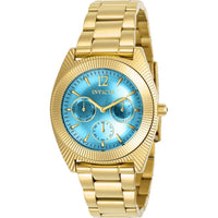 Invicta Women's 23753 Angel Quartz Chronograph Light Blue Dial Watch