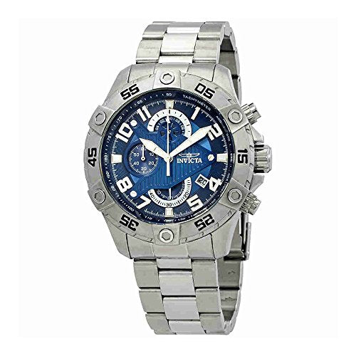 Invicta Men's 26094 S1 Rally Quartz Multifunction Blue Dial Watch