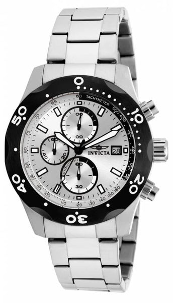 Invicta Men's 17749 Specialty Quartz Chronograph Silver Dial Watch