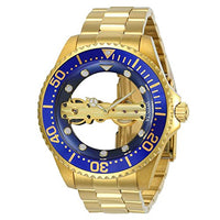 Invicta Men's 24695 Pro Diver Mechanical Multifunction Blue Dial Watch