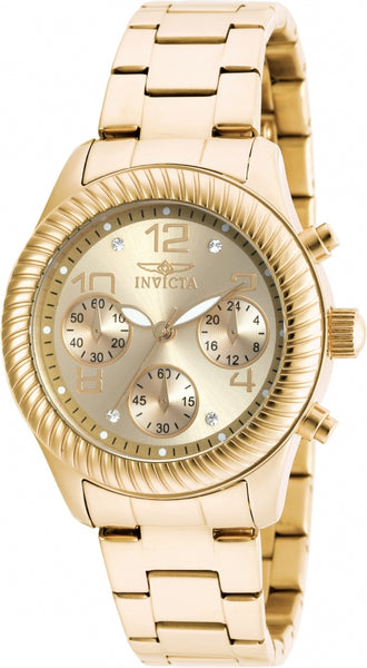 Invicta Women's 20266 Angel Gold-Tone Stainless Steel Watch