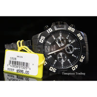 Invicta 1505 Men's Chronograph Black Ion-Plated Stainless-Steel Watch