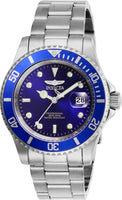 Invicta Men's 26971 Pro Diver Quartz 3 Hand Blue Dial Watch
