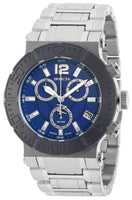 Invicta 19596 Men's Reserve Swiss Quartz Blue Dial Analog Stainless Steel Watch