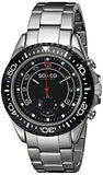 SO&CO New York Men's 5015.3 Yacht Club Stainless Steel Chronograph Date Stainless Steel Link Bracelet Watch