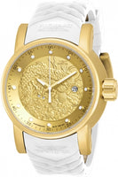 Invicta Men's 19546 S1 Rally Automatic Gold Dial Watch