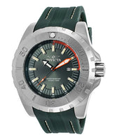 Invicta Men's 23738 Pro Diver Quartz 3 Hand Green Dial Watch