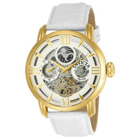 Invicta Men's 22652 Objet D Art Automatic 3 Hand Silver Dial Watch