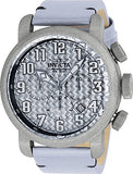 Invicta Men's 23091 Aviator Quartz 3 Hand Silver Dial Watch