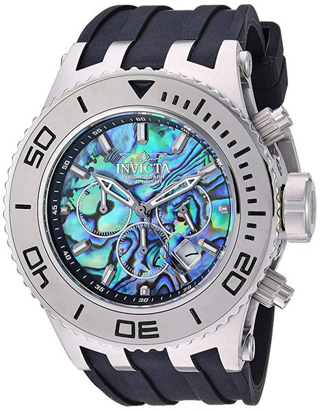 Invicta Men's 25013 Subaqua Quartz Chronograph Blue Dial  Watch