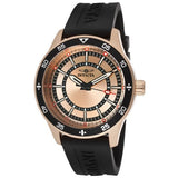 Invicta Men's 14336 Specialty Rose Dial Black Polyurethane Watch