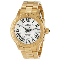 Invicta Men's 14379 Pro Diver Quartz 3 Hand Silver Dial Watch