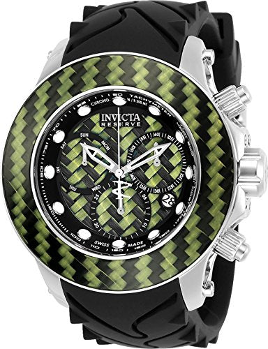 Invicta 22145 Mens Carbon Collection Swiss Made Quartz Chronograph Watch