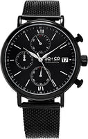 SO & CO New York Men's 5266M.3 Black Stainless Steel Watch