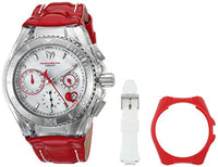 Technomarine Unisex TM-115312 Cruise Valentine Quartz Chronograph Silver Dial Watch