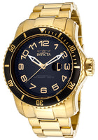 Invicta Men's 15346 Pro Diver Quartz 3 Hand Black Dial Watch