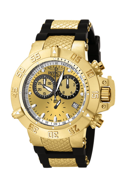 Invicta Men's 5517 Subaqua Quartz Chronograph Gold Dial Watch