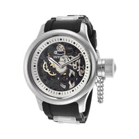 Invicta Men's 17263 Russian Diver Mechanical 2 Hand Silver Dial Watch