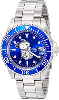 Invicta Men's 24783 Character  Automatic 3 Hand Blue Dial Watch