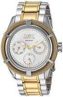 Invicta Women's 24455 Bolt Quartz Chronograph Silver Dial Watch