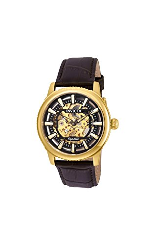Invicta Men's 22611 Objet D Art Automatic 3 Hand Black Dial Watch