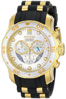 Invicta Men's 6985 Pro Diver Quartz Chronograph Silver Dial Watch