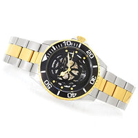 Invicta Men's 22042 Pro Diver Automatic 3 Hand Black Dial Watch