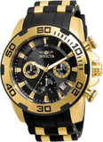 Invicta Men's 22312 Pro Diver Quartz Chronograph Black Dial Watch