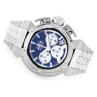 Invicta Men's 22424 Pro Diver Quartz Chronograph Blue, White Dial Watch