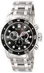 Invicta Men's 0069 Pro Diver Quartz Chronograph Black Dial Watch