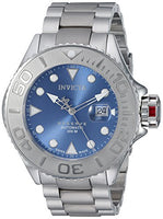 Invicta Men's 22860 Pro Diver Automatic 3 Hand Blue Dial Watch