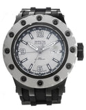 Invicta Men's 'Subaqua' Swiss Quartz Stainless Steel and Polyurethane Casual Watch, Color:Black (Model: 20126)