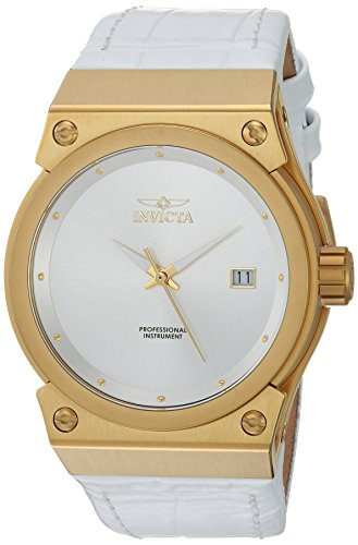 Invicta Women's 24462 Akula Quartz 3 Hand Antique Silver Dial Watch